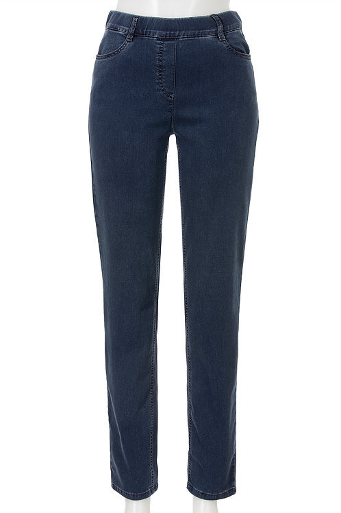 4966 S-Janna STARK Jeans 78 blue denim
