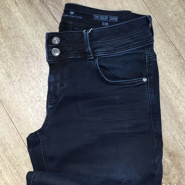 "1013249 TOM TAILOR Jeans ""Carrie"" 10173 dark stone blue"