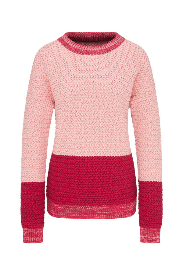 W219-K07-I01 Pullover RECOLUTION rose/biking red