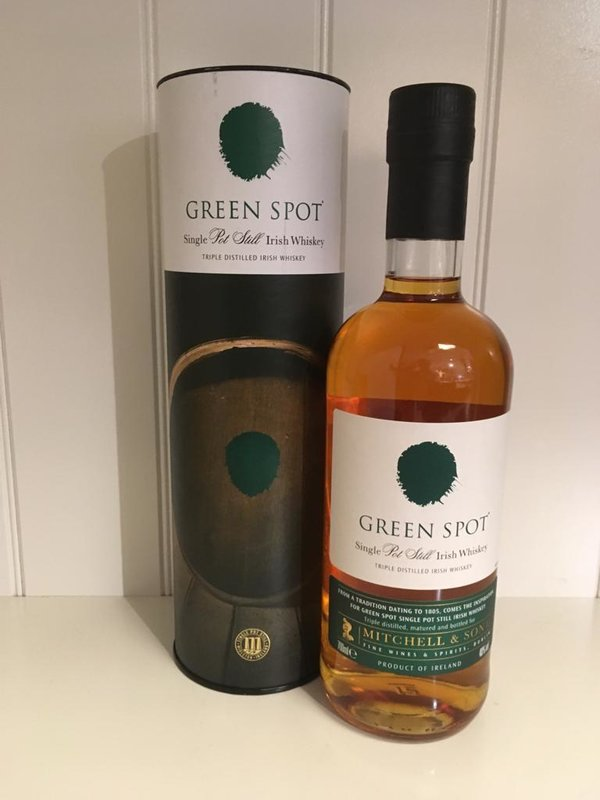 Green Spot Single Pot Still Irish Whiskey 0,7l 43% vol.