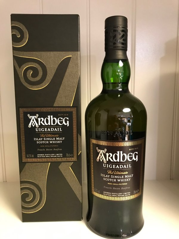 Ardbeg Uigeadail Islay Single Malt Scotch Whisky 0,7l 54,2% vol.