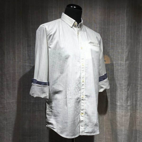 1017357 Hemd TOM TAILOR men 22090 white base