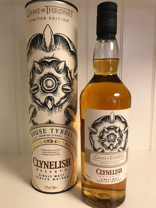 Game of Thrones House Tyrell | Clynelish Reserve Single Malt 0,7l 43%