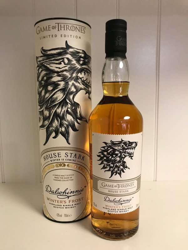 Game of Thrones House Stark | Dalwhinnie Winters Frost Single Malt Scotch Whisky 0,7l 43%