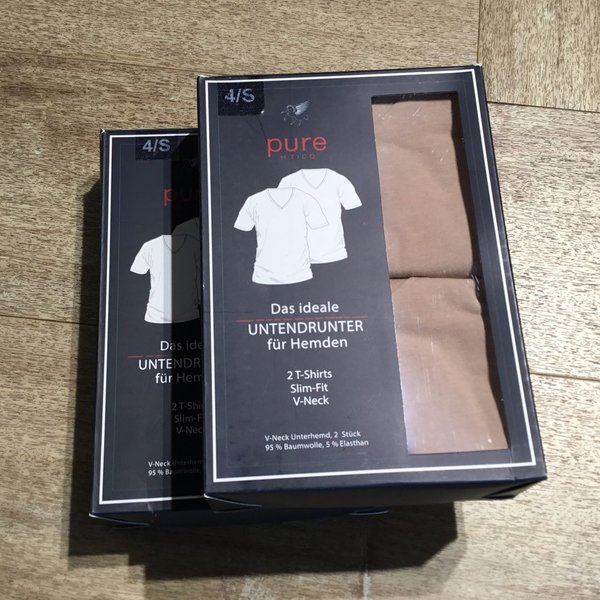 3398-92998 T-Shirt Doppelpack PURE 900 weiß