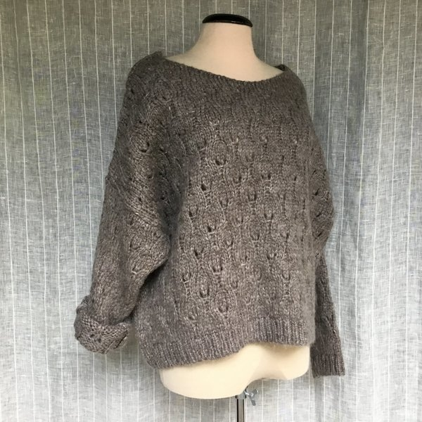01641095 Pullover MORE&MORE 0220 soft taupe