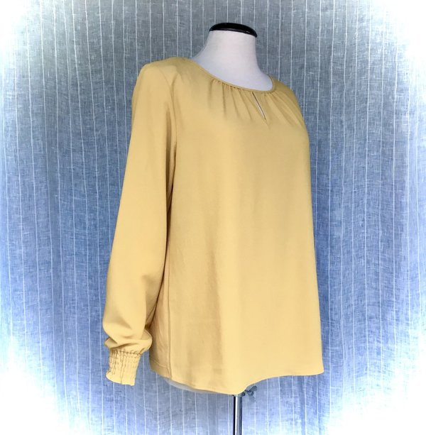 01090006 Bluse MORE&MORE 0183 autumn gold