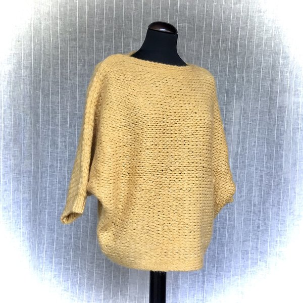 01091023 Pullover MORE&MORE 0183 autumn gold