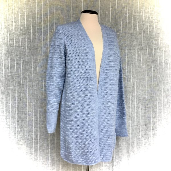 01111213 Cardigan MORE&MORE 0317 cloudy blue