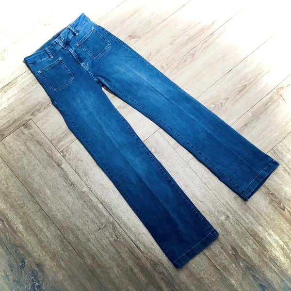11014200 Marlenehose MORE&MORE 0961 light denim blue