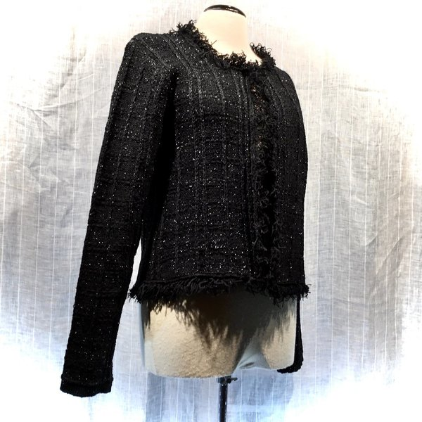01121281 Cardigan MORE&MORE 0790 black