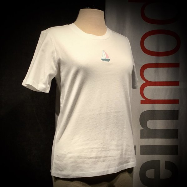 W121-02-A07 T-Shirt RECOLUTION wmn white